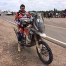 Mani Gyenes la Dakar 2016: romanul are al 23-lea timp la general