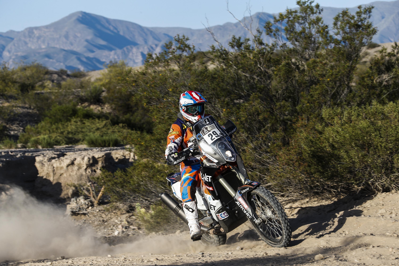 Mani Gyenes etapa 3 Dakar 2017