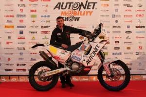 Mani Gyenes si motocicleta din Dakar 2015