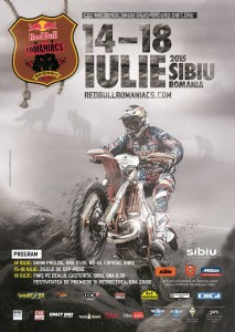 Poster Red Bull Romaniacs 2015