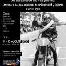 Campionatul Național al României – In memoria lui Ionel Pascota Senior – Viteza & Oldtimer – Et.I & II – Adâncata 14-16.08.2020
