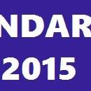Calendar FRM 2015