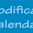 Modificari Calendar FRM